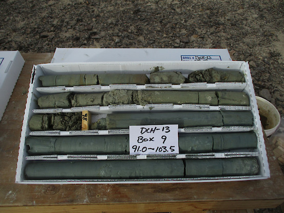Lithium Enriched Drill Core from Clayton Valley Project, Nevada