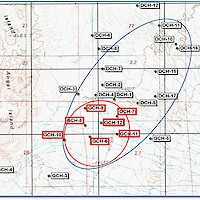 Clayton Valley Lithium Project Drill Hole Map 2019