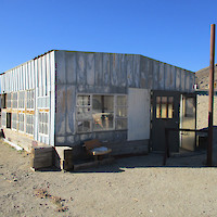 Clayton Valley Project Core Shack, Silver Peak, Nevada