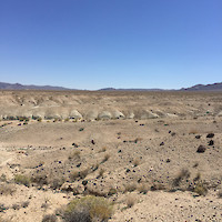 Clayton Valley Project Outcropping Claystone, Nevada