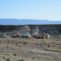 Clayton Valley Lithium Claystone Project, Nevada Fall 2017 Drilling