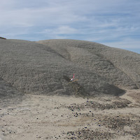 Lithium-Rich Claystone Outcropping at Cypress' Clayton Valley Project, Nevada