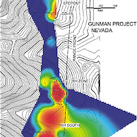 2007 Gunman Zinc Project Drill Map